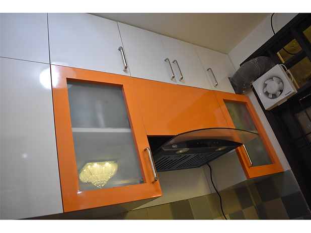 Modular Kitchen Upper Cabinet design