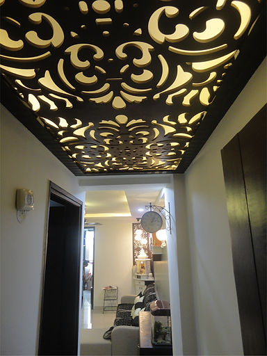 CNC Cutting foyer Design
