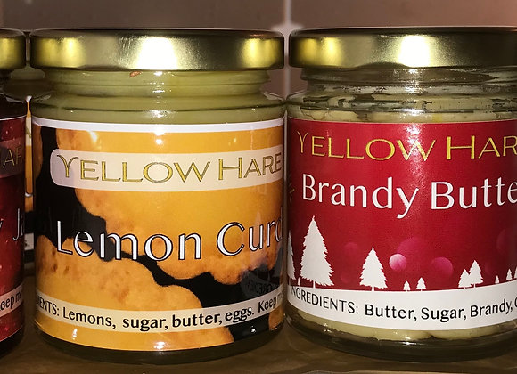 Two Yellow Hare Festive Preserves