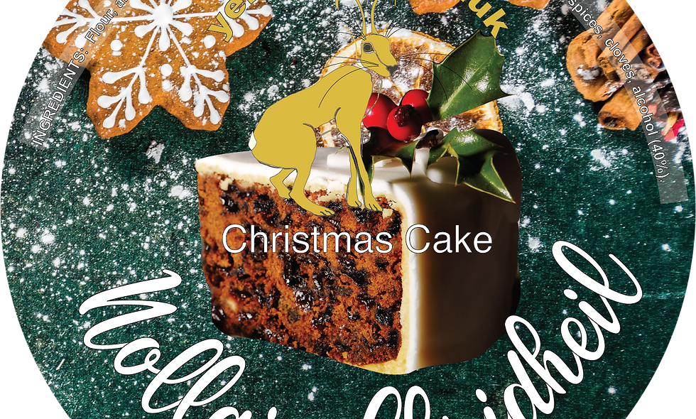 Christmas Cake in Presentation Tin