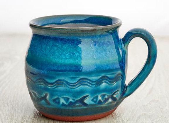 Coastal Mug by Rupert Blamire Ceramics