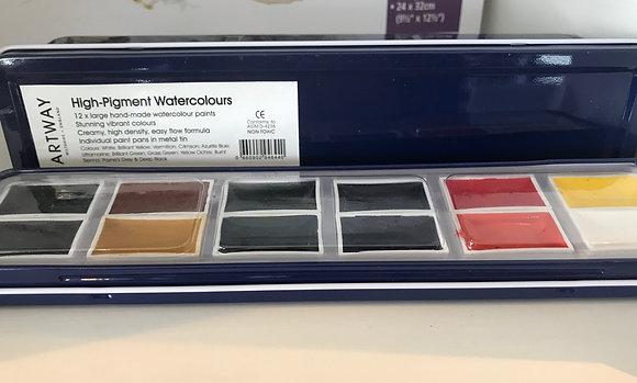 High Pigment Watercolour Paint Set