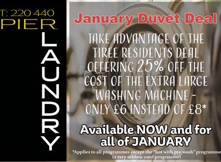 January Duvet Deal
