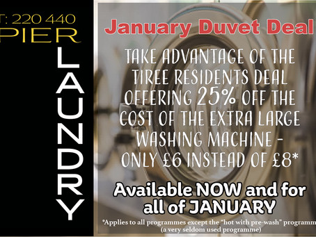 January Duvet Deal