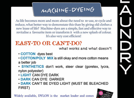 Machine Dyeing