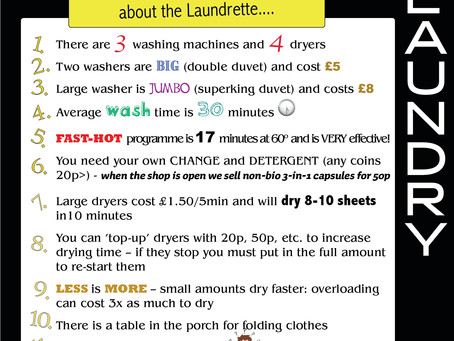 Tips to get the best out of Pier Laundry machines