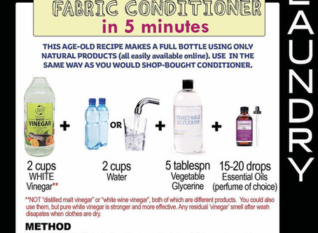 Make Your Own Fabric Softener