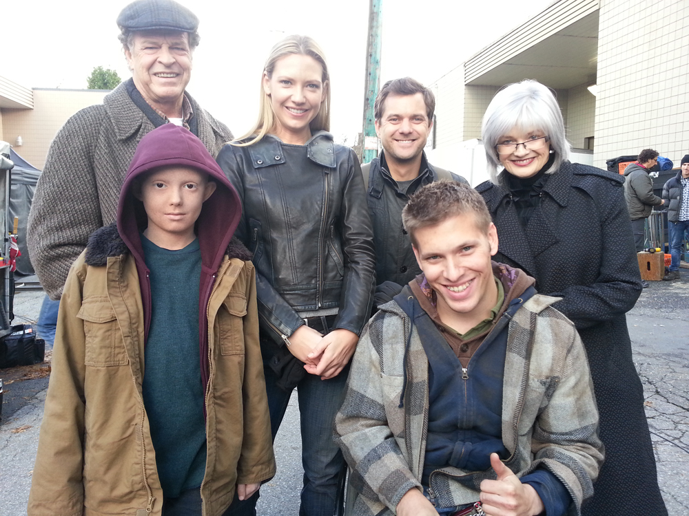 "On the set of ""Fringe"""