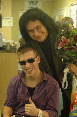 Marco with Gene Simmons