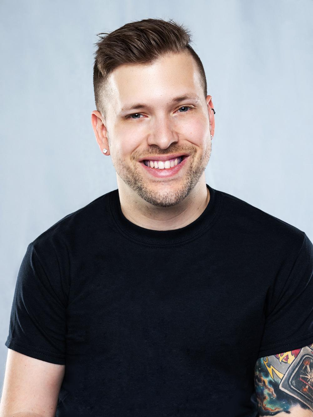 Marco Pasqua smiling