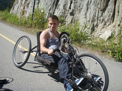 Marco on Handcycle