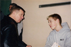 Rick Hansen and Marco