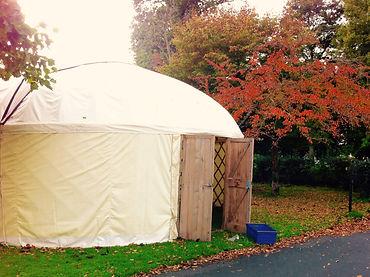 IWLF Story Festival yurt 2018