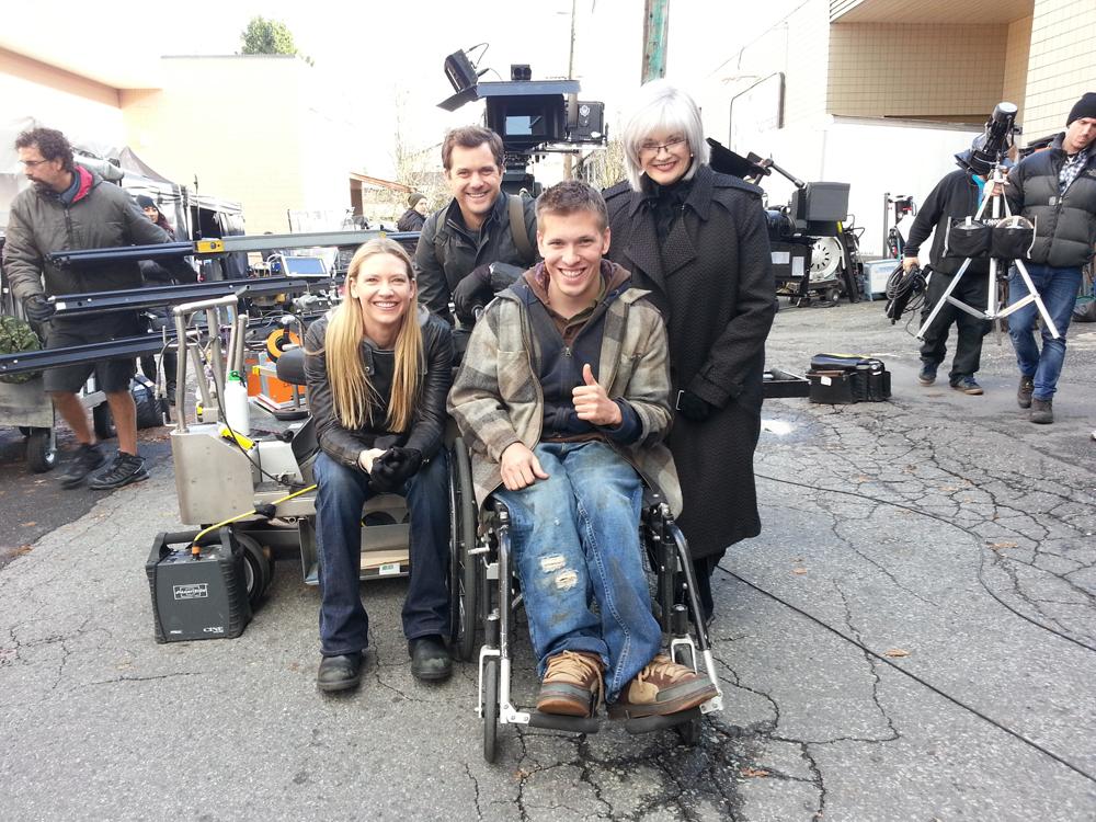 """On the set of """"Fringe"""""""