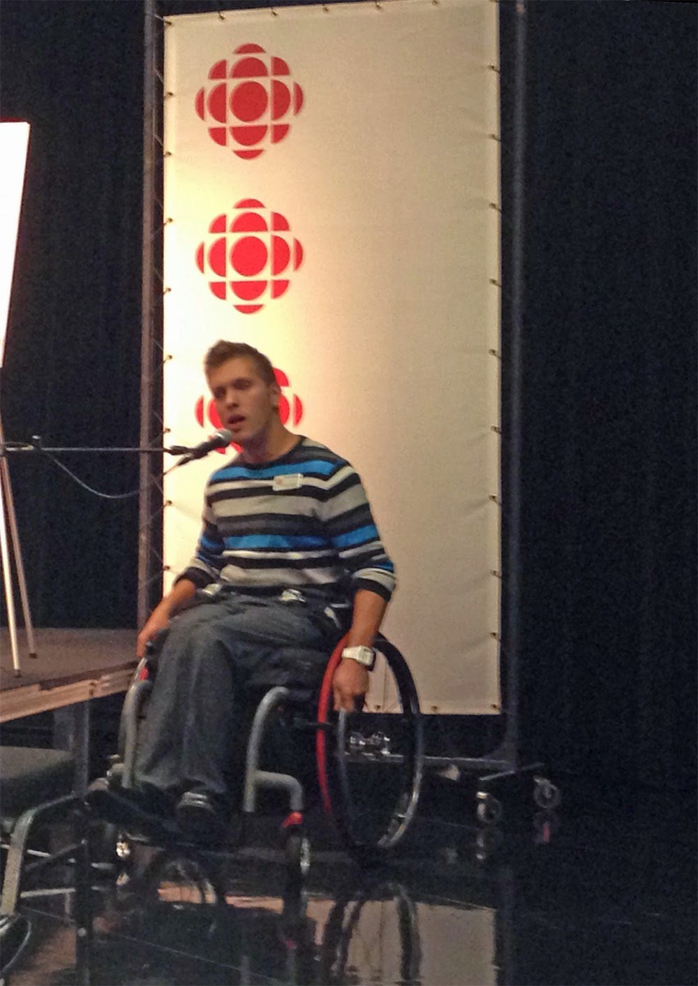 Presenting to CBC