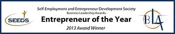 SEEDS Business Leadership Awards: Entrepreneur of the Year 2013 Award Winner