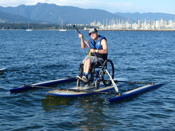 Adapted Paddle Boarding