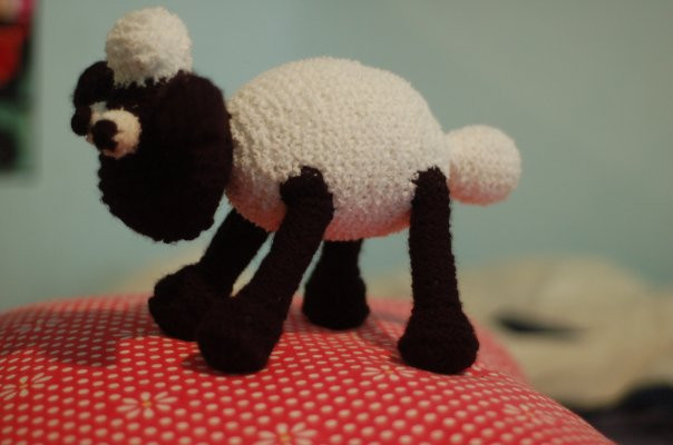 Shawn the Sheep plush