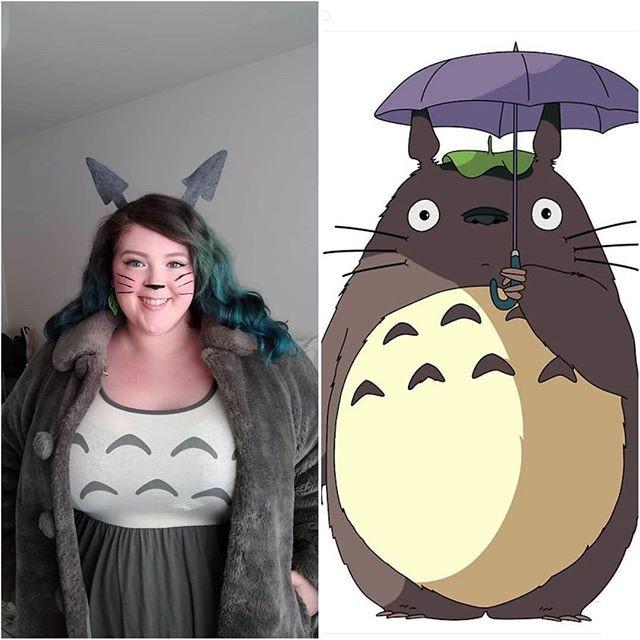 Totoro casual costume
