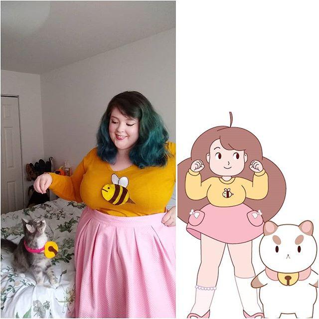 Bee & Puppycat costume