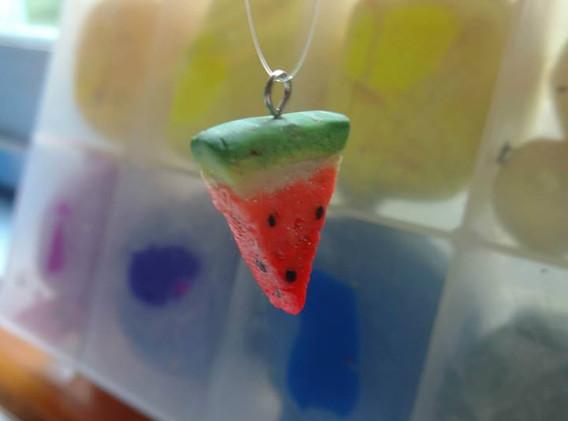 Watermelon Slice Charm
