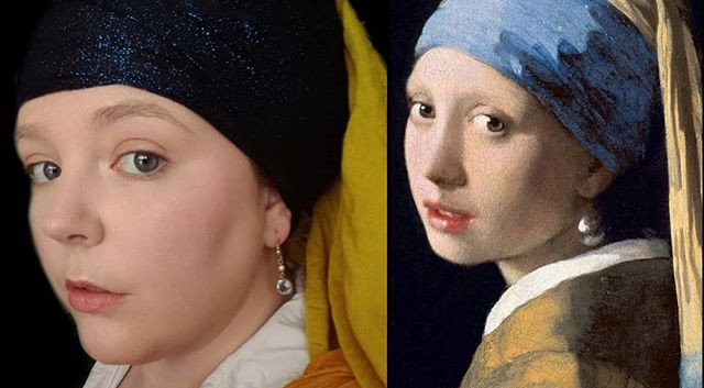Girl with a Pearl Earring casual costume