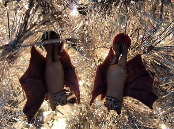 Creature Comforts Bat Ornaments