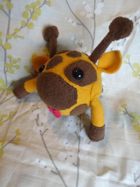 Castle Crashers Giraffe plush