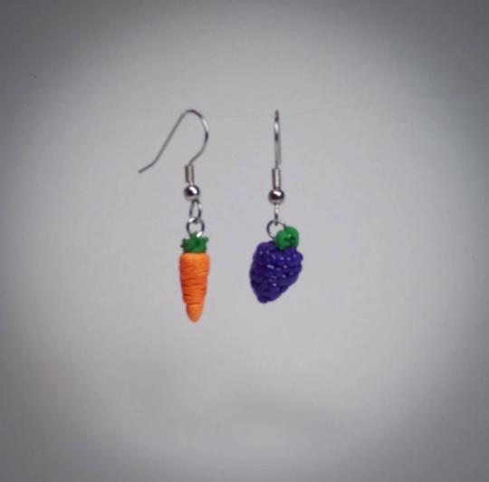 Fruit & Veggie Earring Set