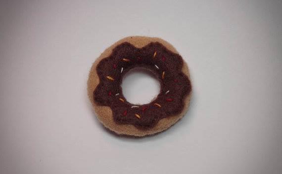 Felt Donut Pin
