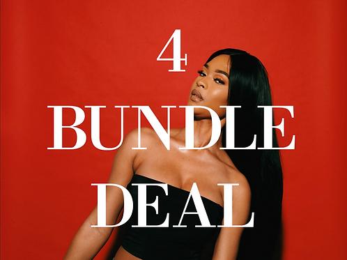 Straight / Body Wave 4 Bundle Deal