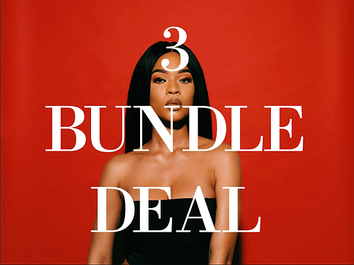 Straight / Body Wave 3 Bundle Deal