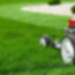 Mower Cutting Grass