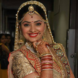 Beautiful Smile of a Bride
