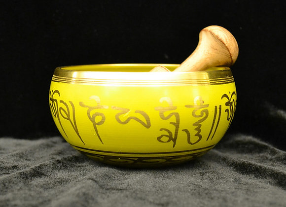 Yellow Sun Energy Tibetan Singing Bowl