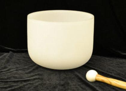 12 inch Crystal Singing Bowl