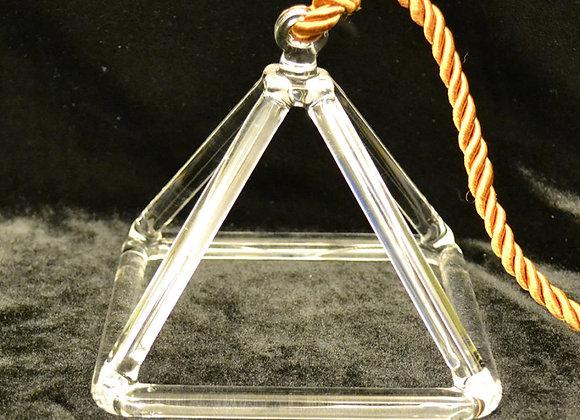 5 inch Crystal Singing Pyramid