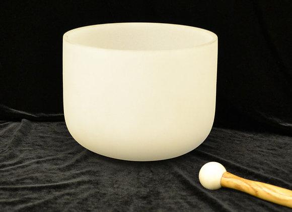 8 inch Crystal Singing Bowl