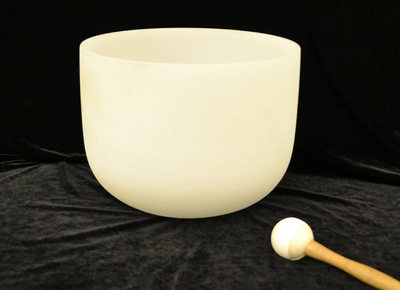 10 inch Crystal Singing Bowl