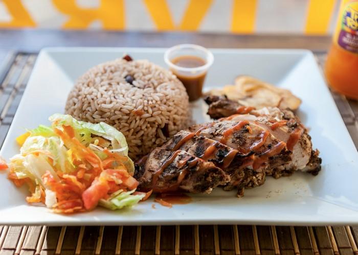 Poulet Jerk à la Jamaïcaine