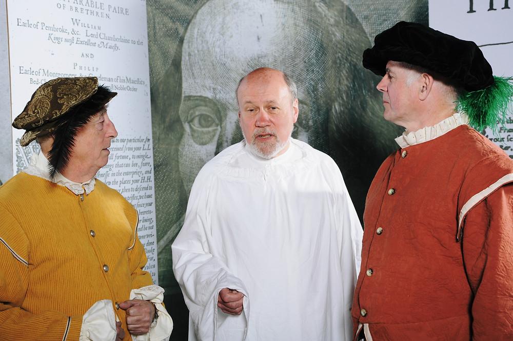 John Heminges, William Shakespeare and Henry Condell