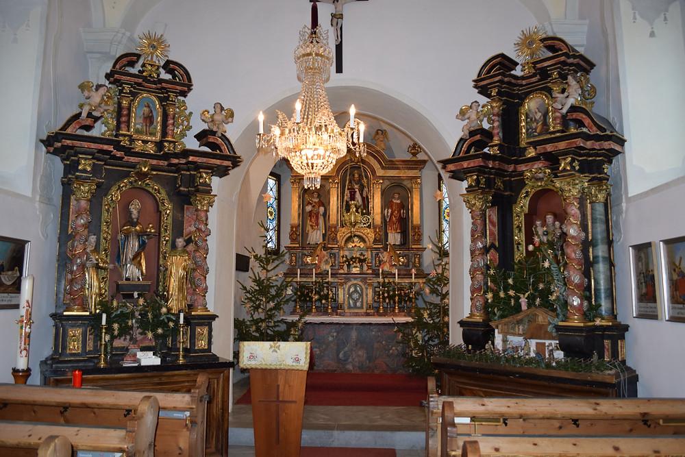 Baroque Interior Sankt Wolfgang Parish Church, Austria. Photo Credit Amelia Marriette