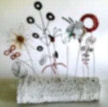 Meadow Sculpture, Wildblumen Skulptur