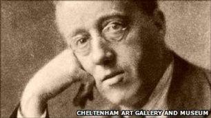 The Composer Gustav Holst image Cheltenh