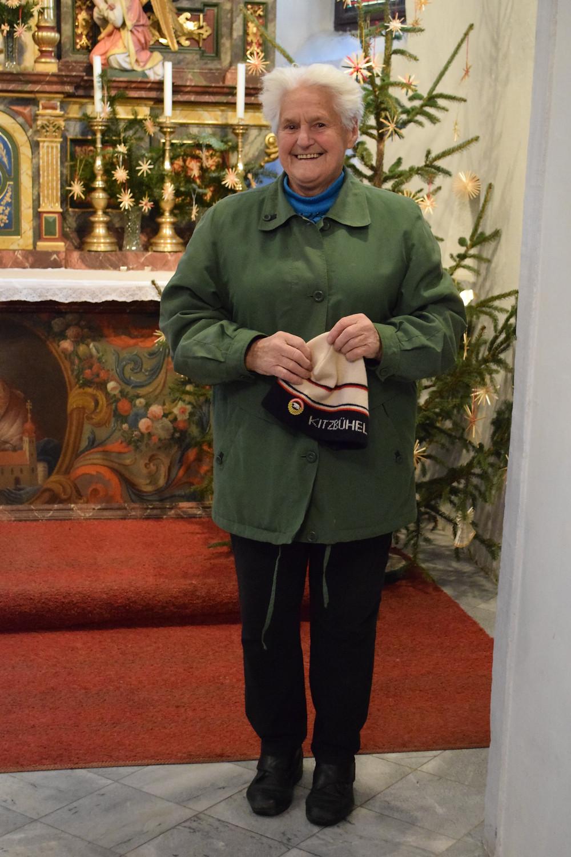Local volunteer  - Sankt Wolfgang Church, Austria.