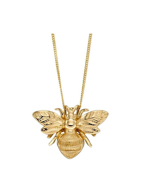 9ct Gold Bumble Bee Pendant