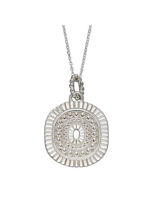 Sterling Silver Bali Style Pendant