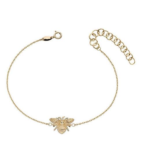 9ct Gold Bumble Bee Bracelet