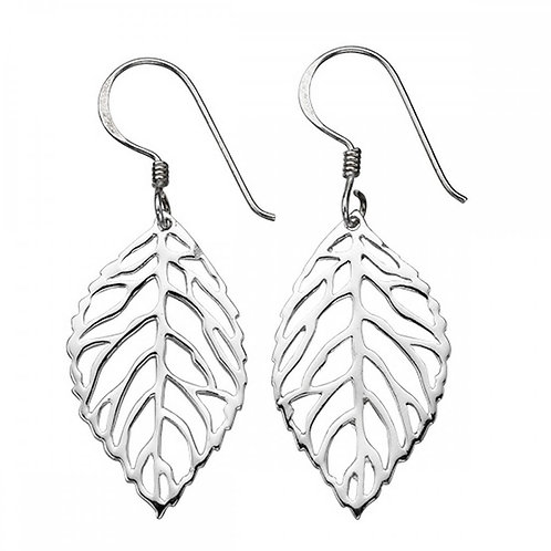 Sterling Silver Leaf Droppers