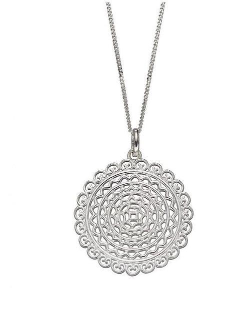 Sterling Silver Filigree Pendant